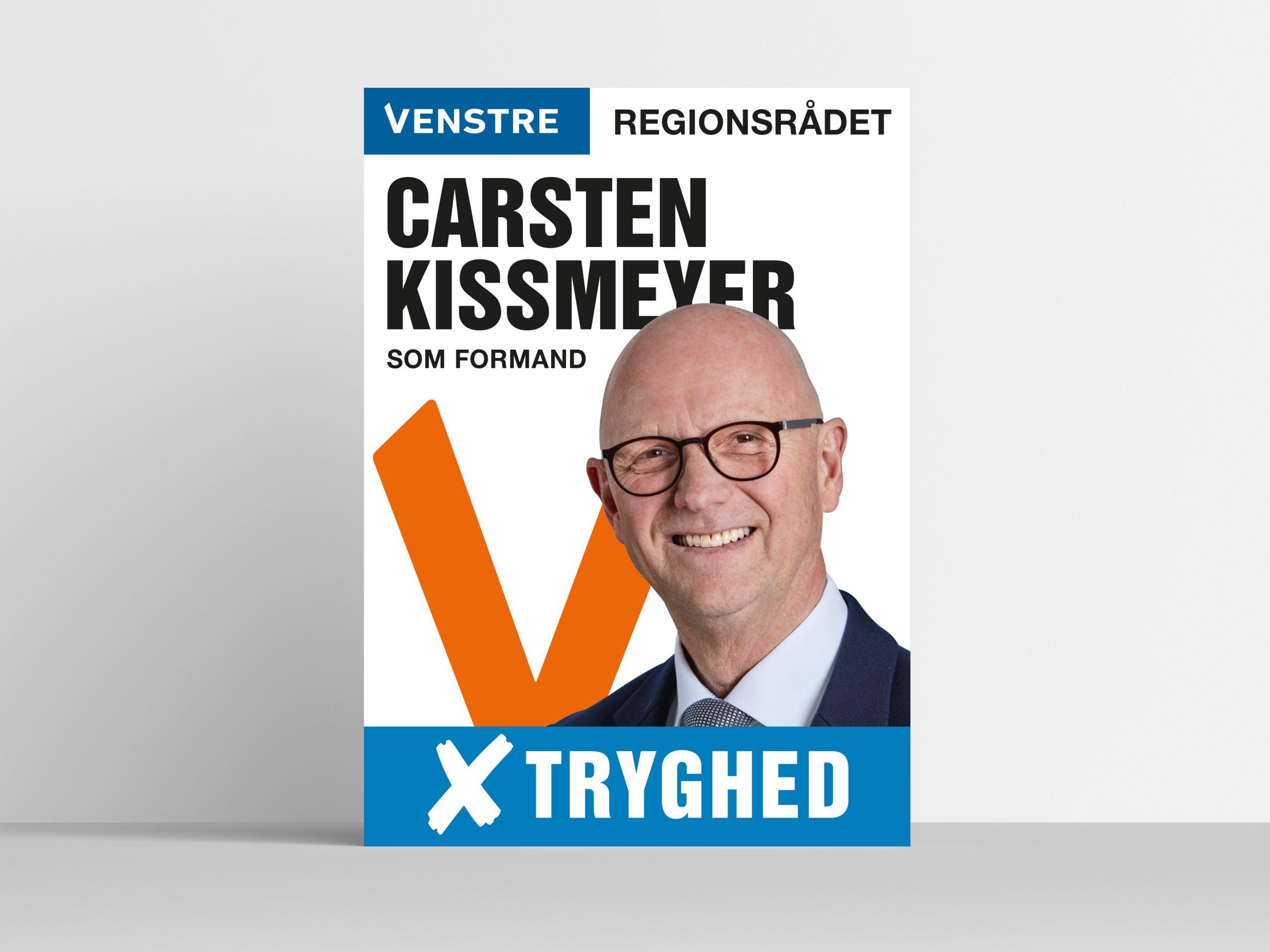 Valgplakat Regionsvalg Folketingsvalg Plakat